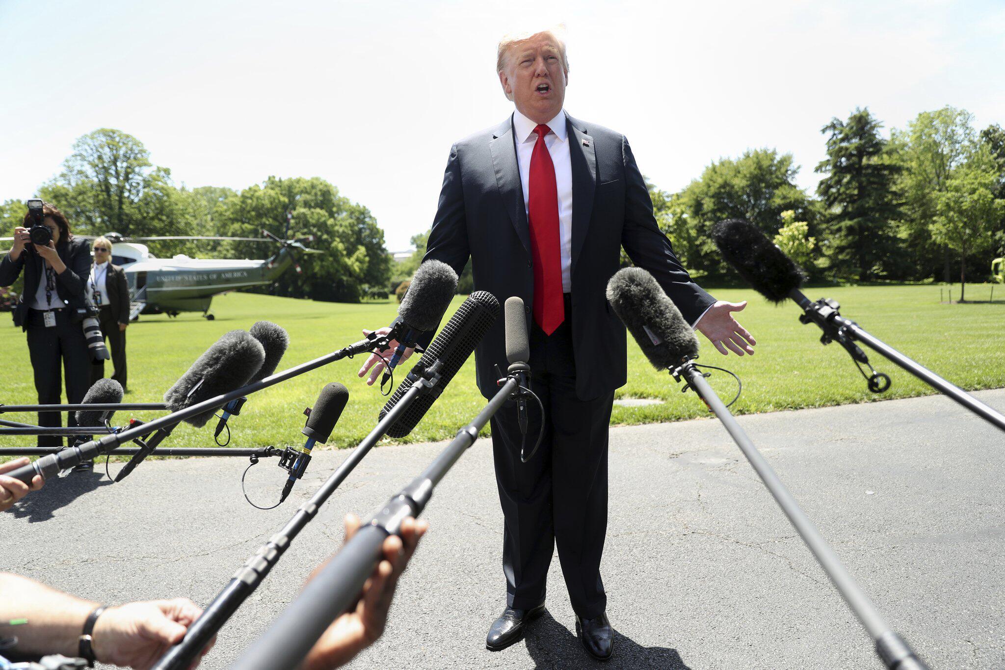 Bild zu Donald Trump vor der Japanreise