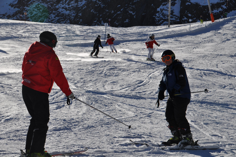 Bild zu Ski fahren