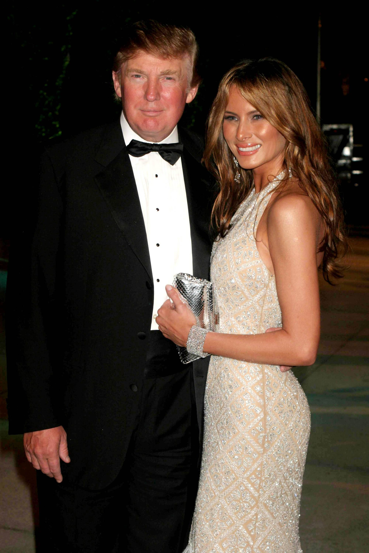 Bild zu Donald Trump, Melania Trump