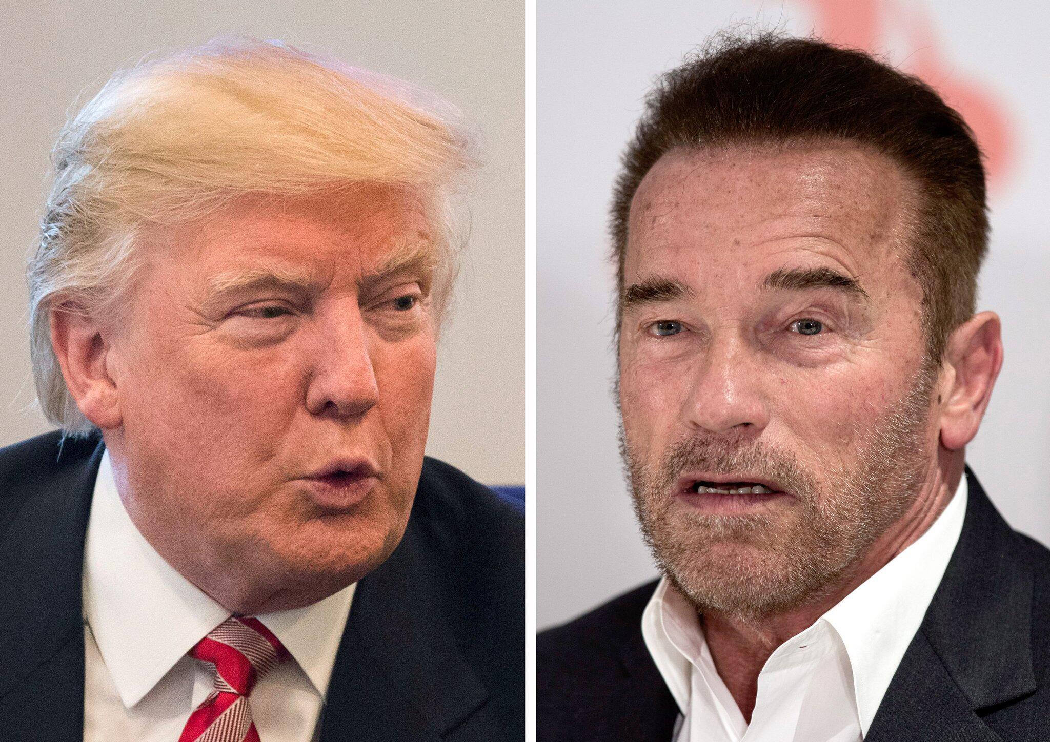 Bild zu Donald Trump und Arnold Schwarzenegger