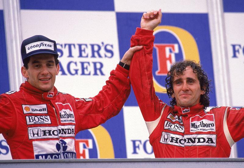 Bild zu McLaren Honda: Alain Prost und Ayrton Senna