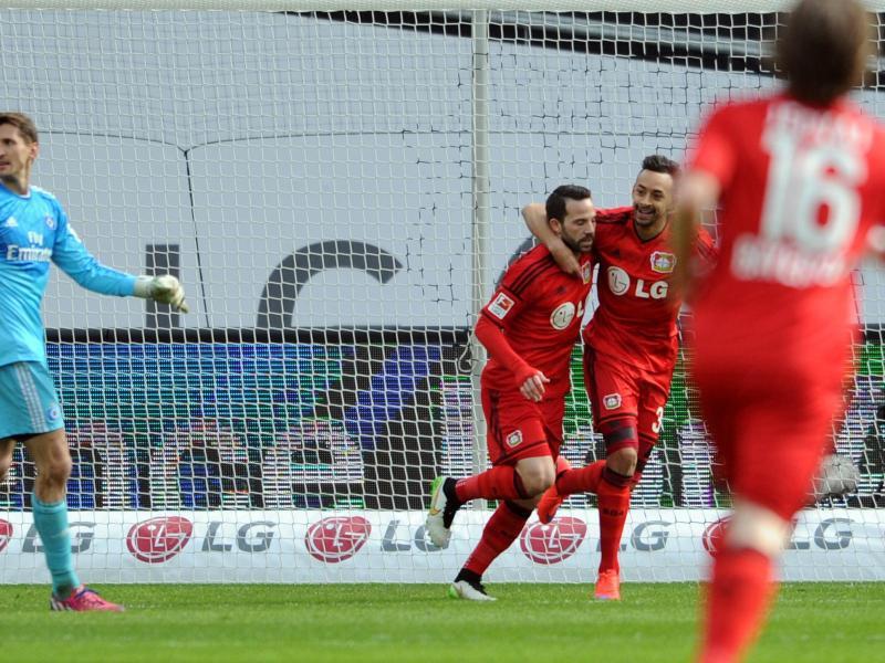Bild zu Bayer Leverkusen - Hamburger SV