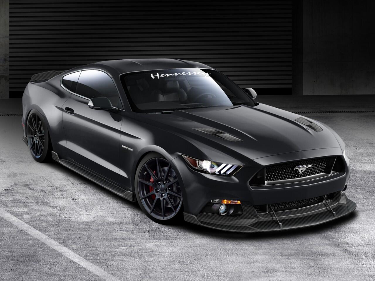Bild zu Ford Mustang HPE700 von Hennessey