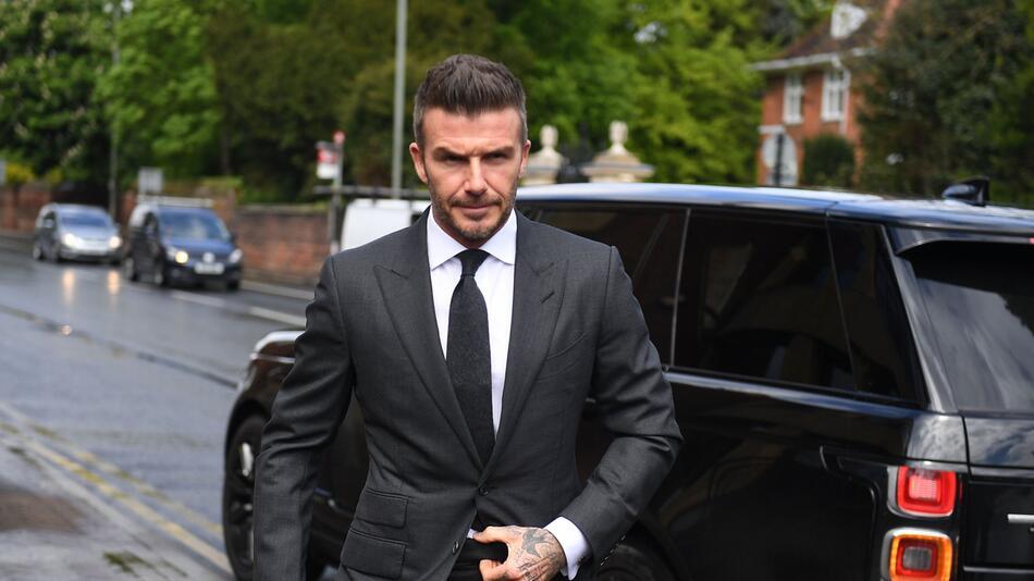 David Beckham vor Gericht