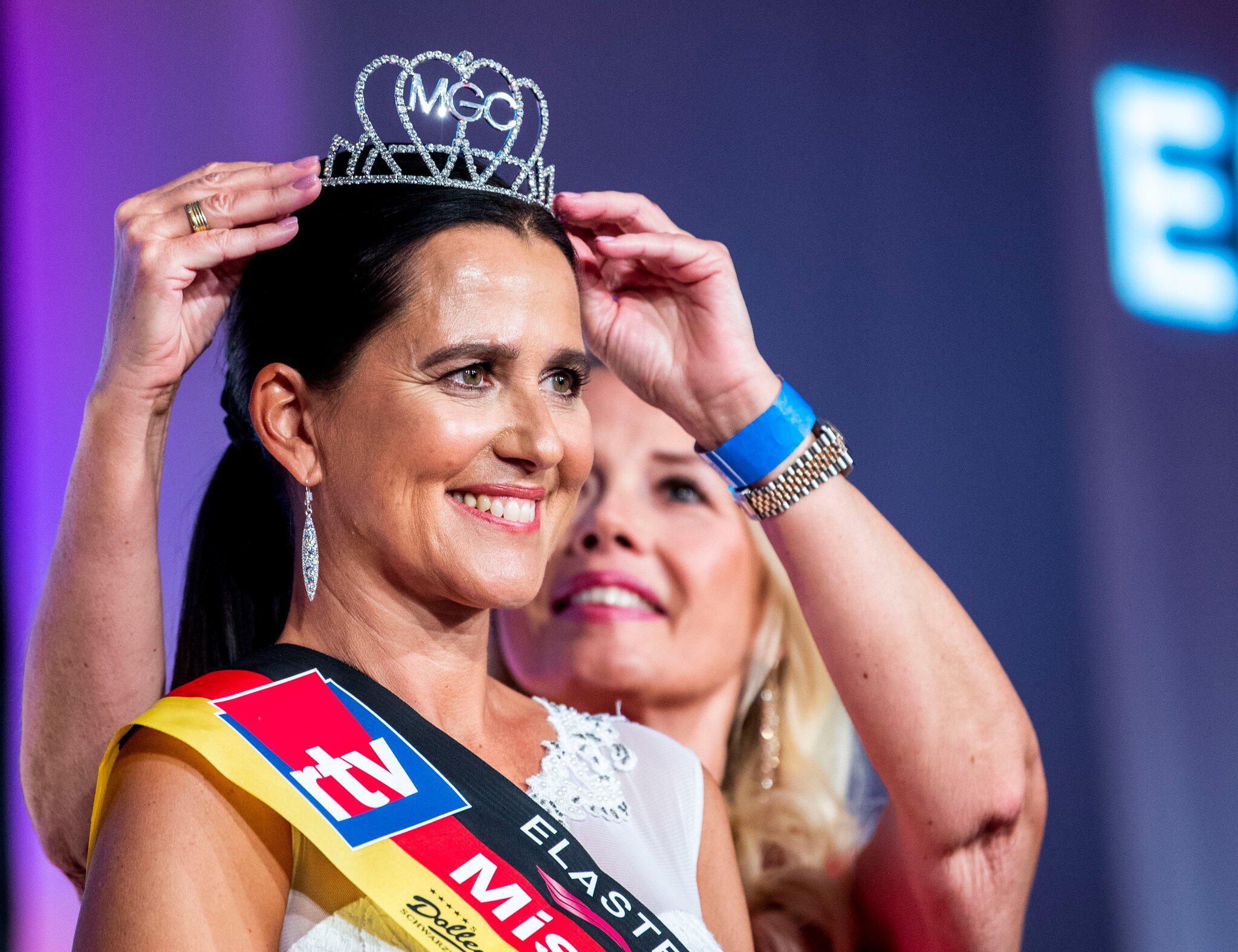 Bild zu Miss 50 plus contest in Germany