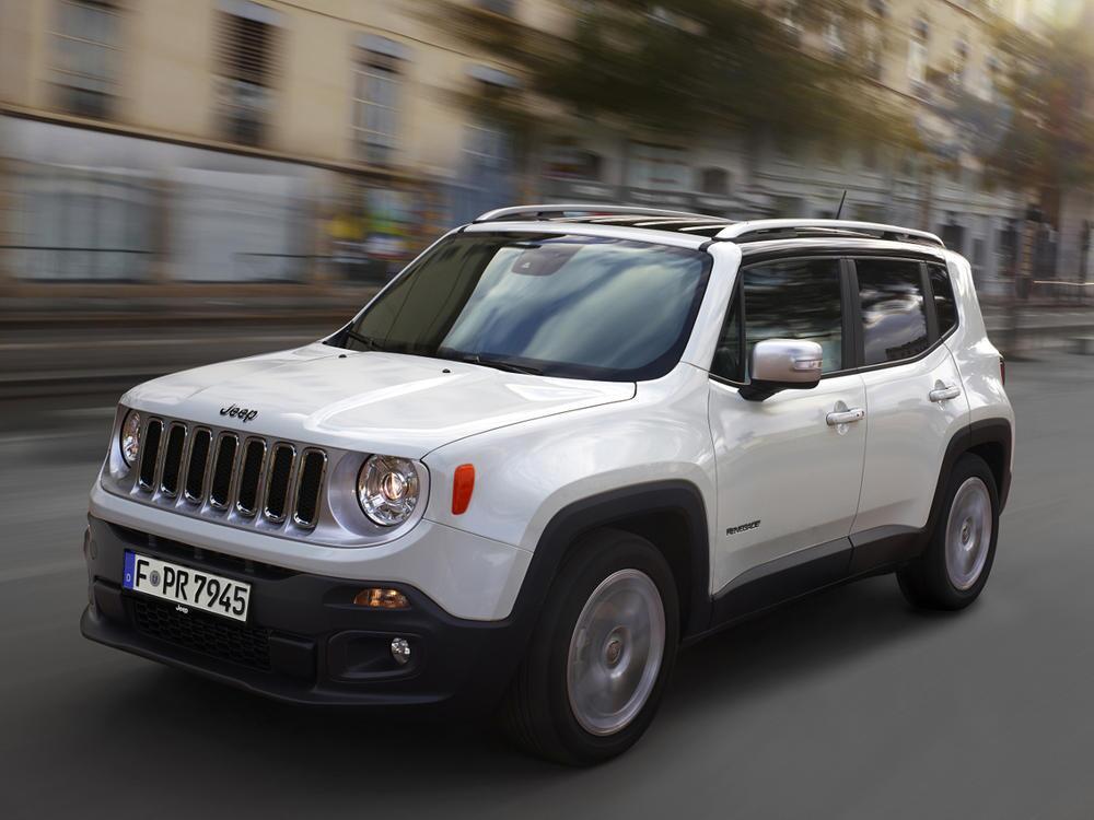 Bild zu Platz 9: Jeep Renegade 1.6 Multijet