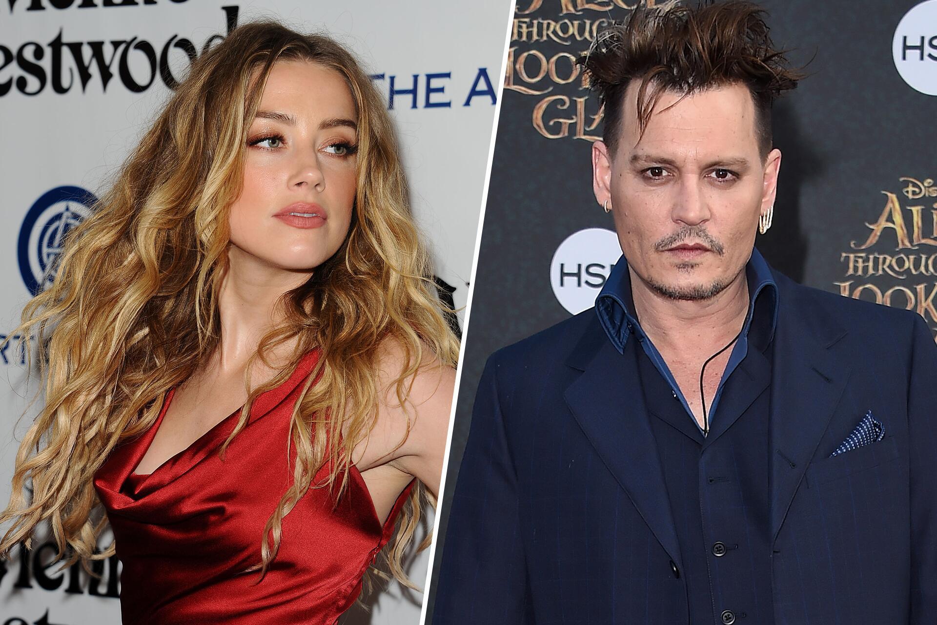 Bild zu Amber Heard, Johnny Depp, Scheidung