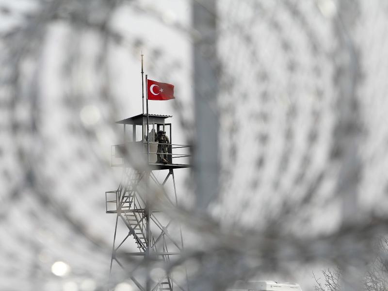 Bild zu Grenze Griechenland-Türkei