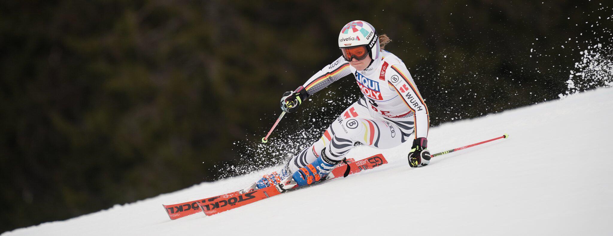 Bild zu Ski alpin, Ski, Ski-WM, Are, Riesenslalom, Viktoria Rebensburg