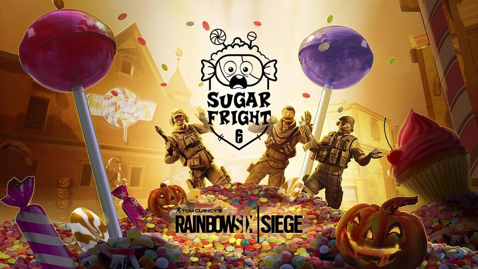 Rainbow Six Siege, Halloween, Sugar Fright, Frost, Süßes, Saures, Online, Shooter, R6Siege