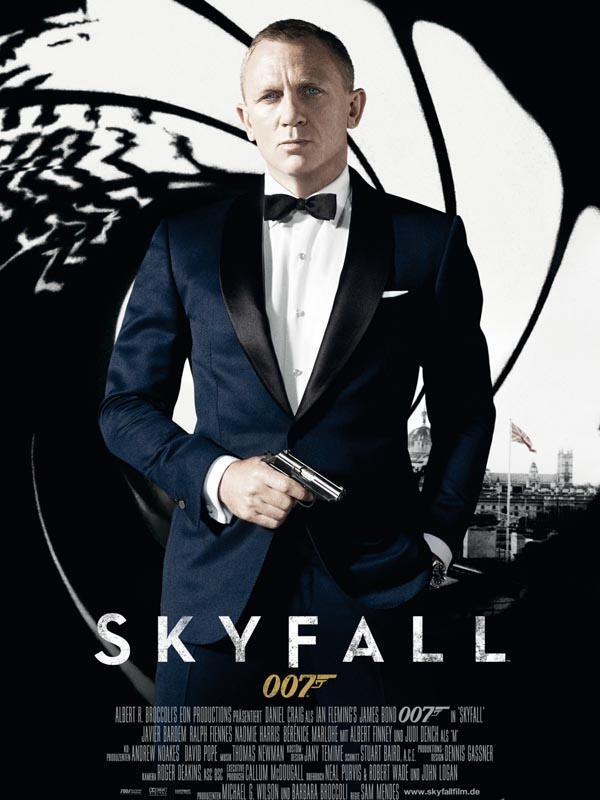 """Bild zu Filmplakat von """"James Bond: Skyfall"""""""