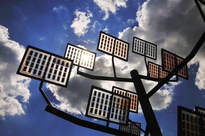 Bild zu Solarbaum