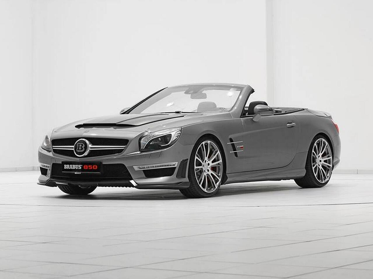 Bild zu Aufgepumpter Mercedes SL 63 AMG von Brabus