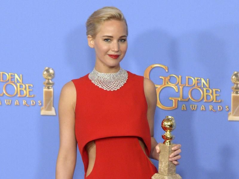 Bild zu Golden Globes - Jennifer Lawrence