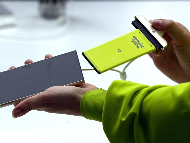Bild zu LG Smartphone G5