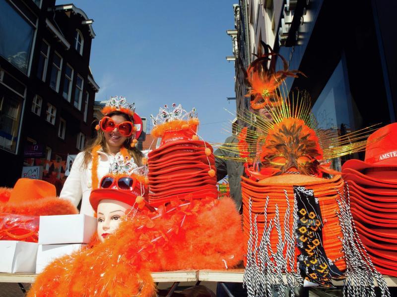 Bild zu Königstag in den Niederlanden