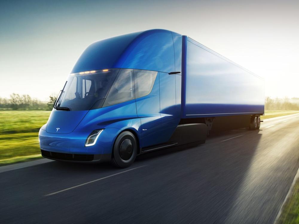 Bild zu Tesla Semi-Truck