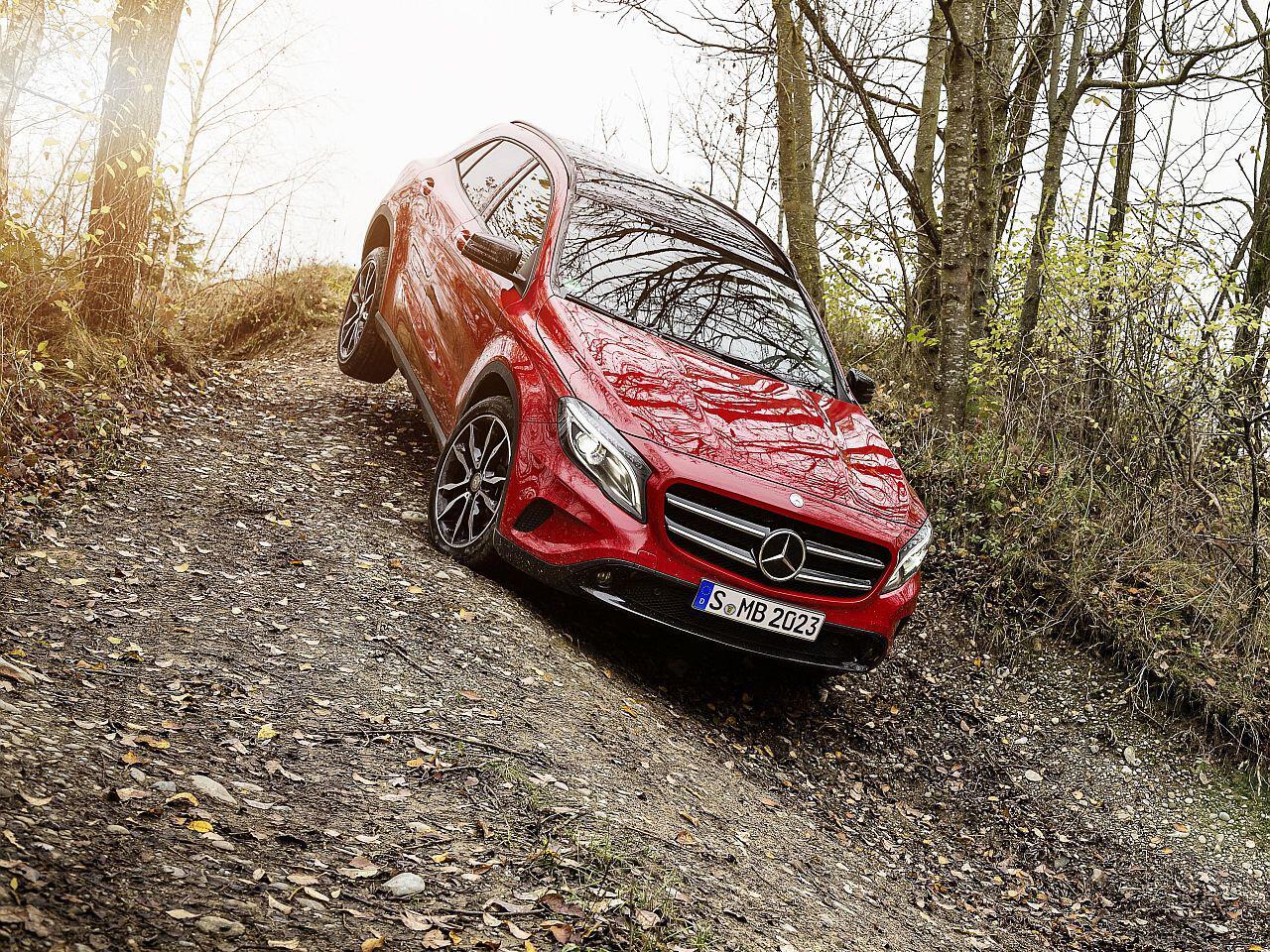 Bild zu 12. Platz: Mercedes GLA