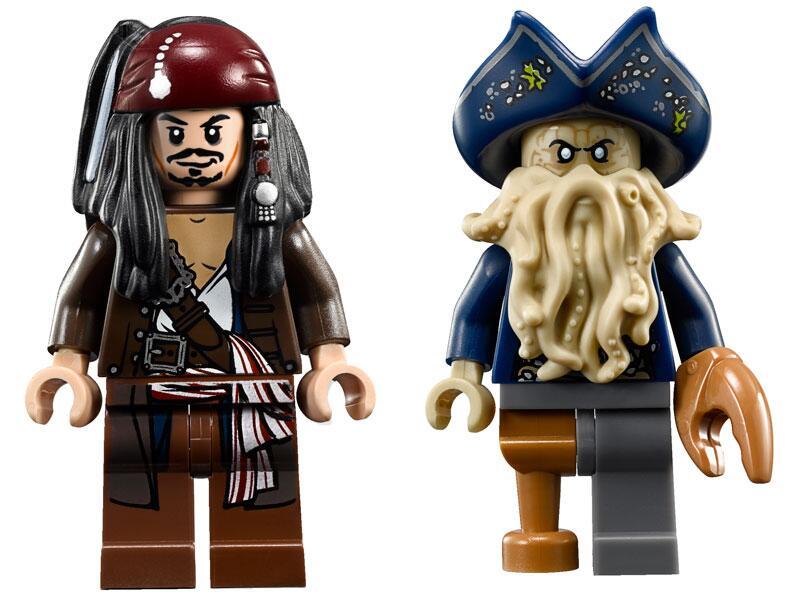 Bild zu Jack Sparrow und Davy Jones