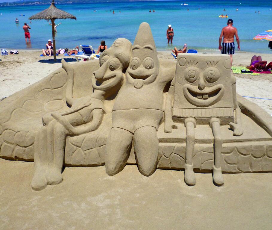 Bild zu Schwammkopf und Freunde in Cala Millor