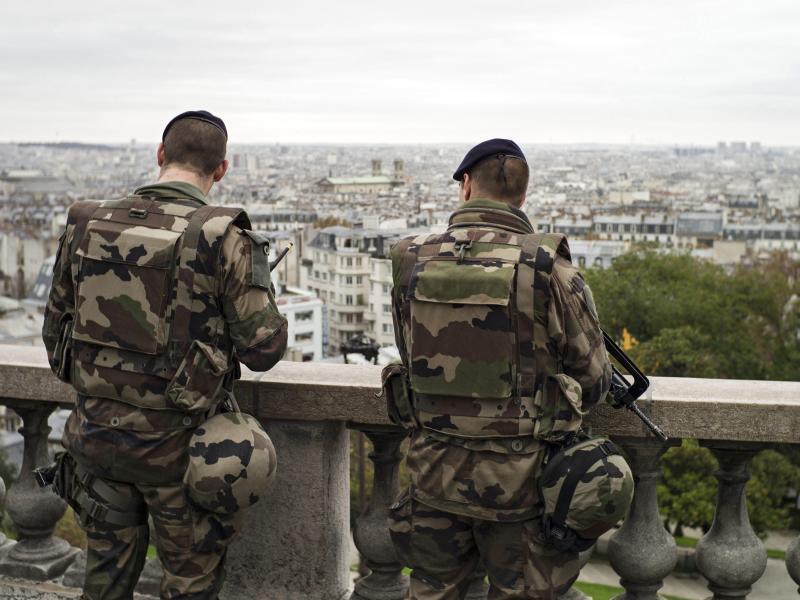Bild zu Französische Soldaten