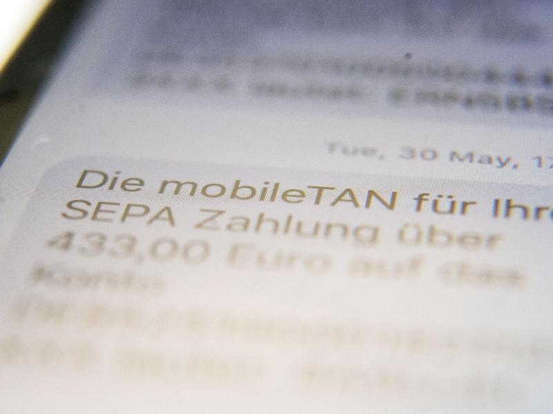 Bild zu TAN per SMS