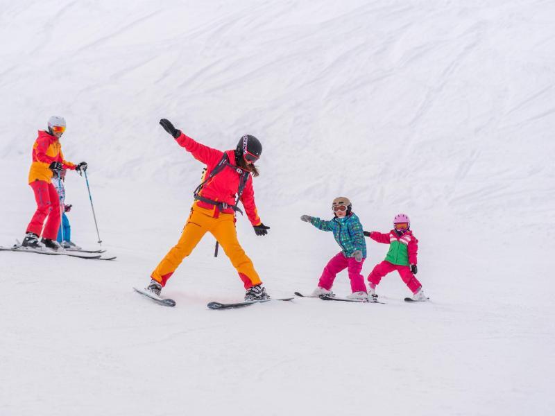 Bild zu Zum ersten Mal auf Skiern