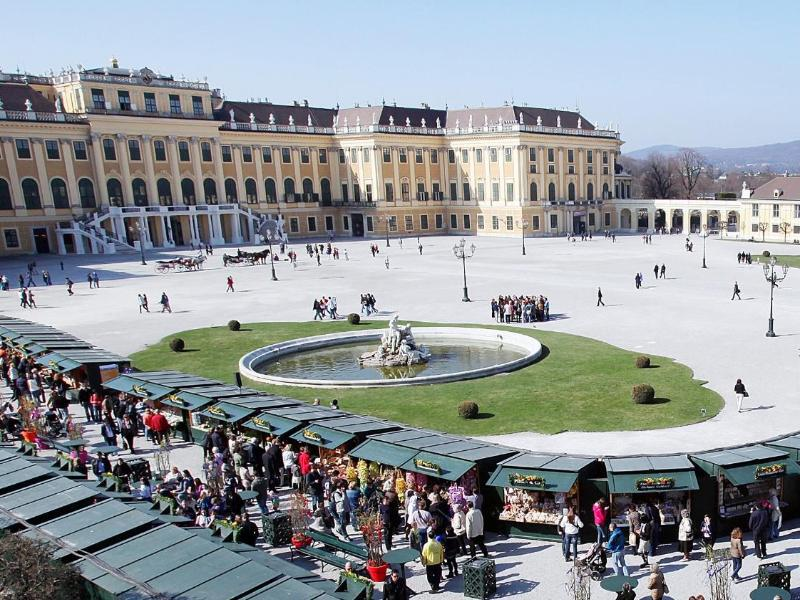 Bild zu Hof des Schlosses Schönbrunn