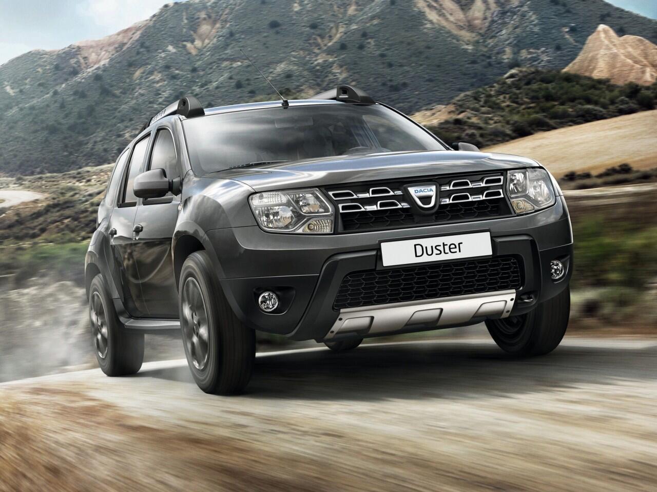 Bild zu 6. Platz: Dacia Duster