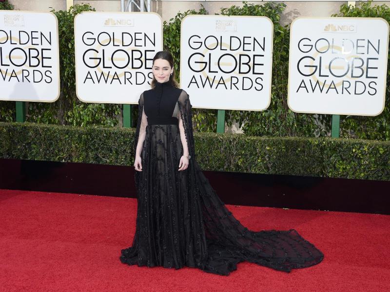 Bild zu Golden Globes - Emilia Clarke
