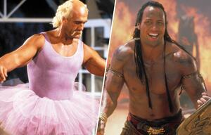 "Dwayne ""The Rock"" Johnson Wrestling und als Hercules"