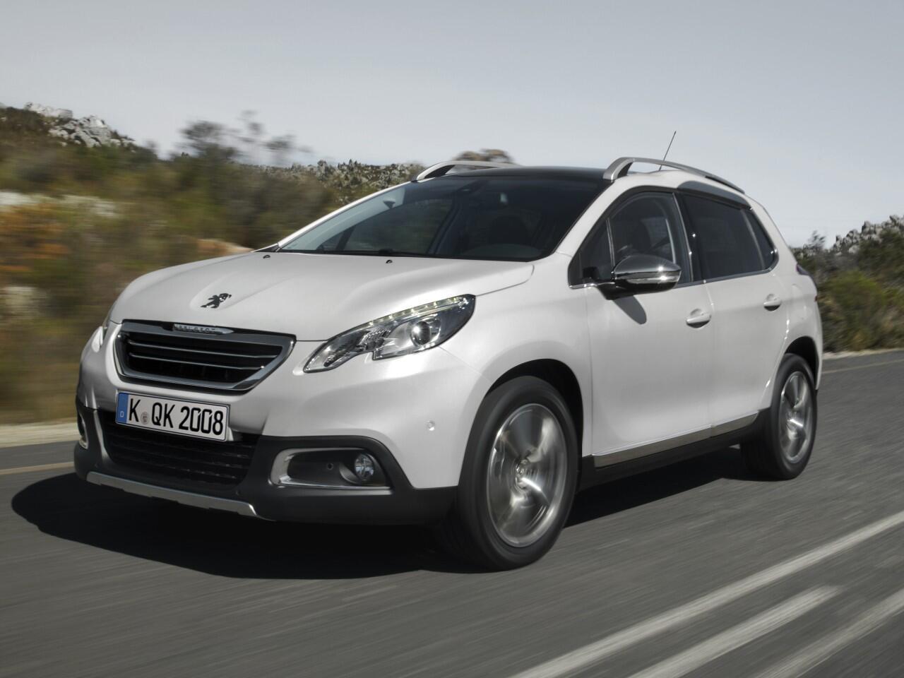 Bild zu 5. Platz: Peugeot 2008