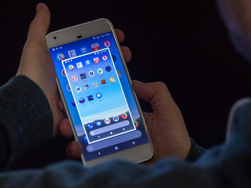 Bild zu Screenshots bei Android