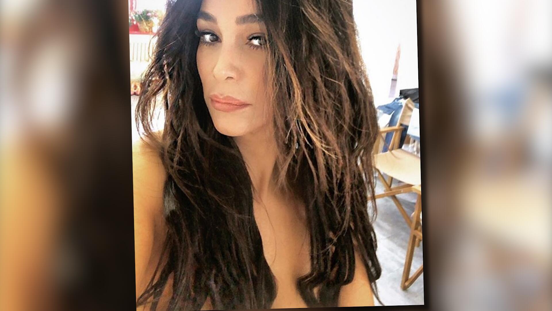 Bild zu Wo sind ihre Brüste hin? Verona Pooth tappt mal wieder in die Photoshop-Falle...