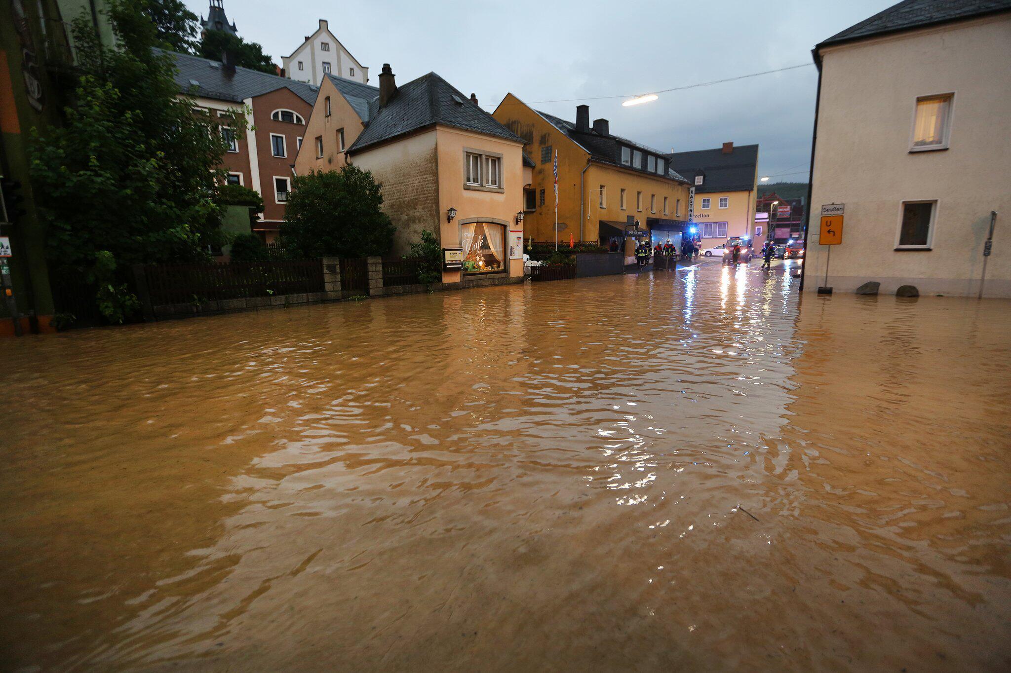 Bild zu Hochwasser in Arzberg