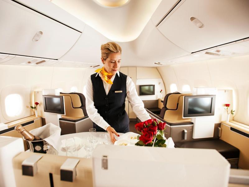 Bild zu First Class bei Lufthansa
