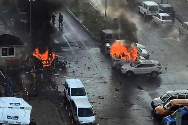 Explosion in Izmir