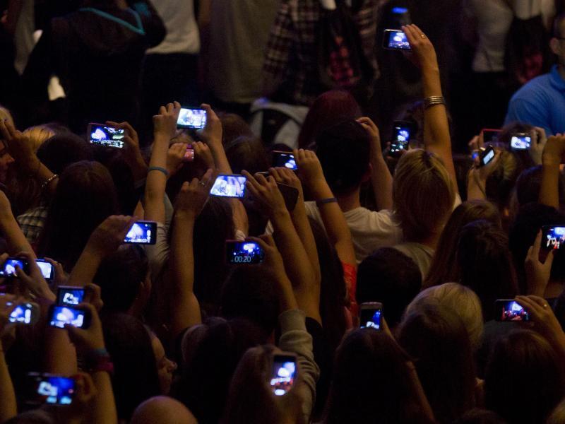 Bild zu Fotografieren mit dem Smartphone