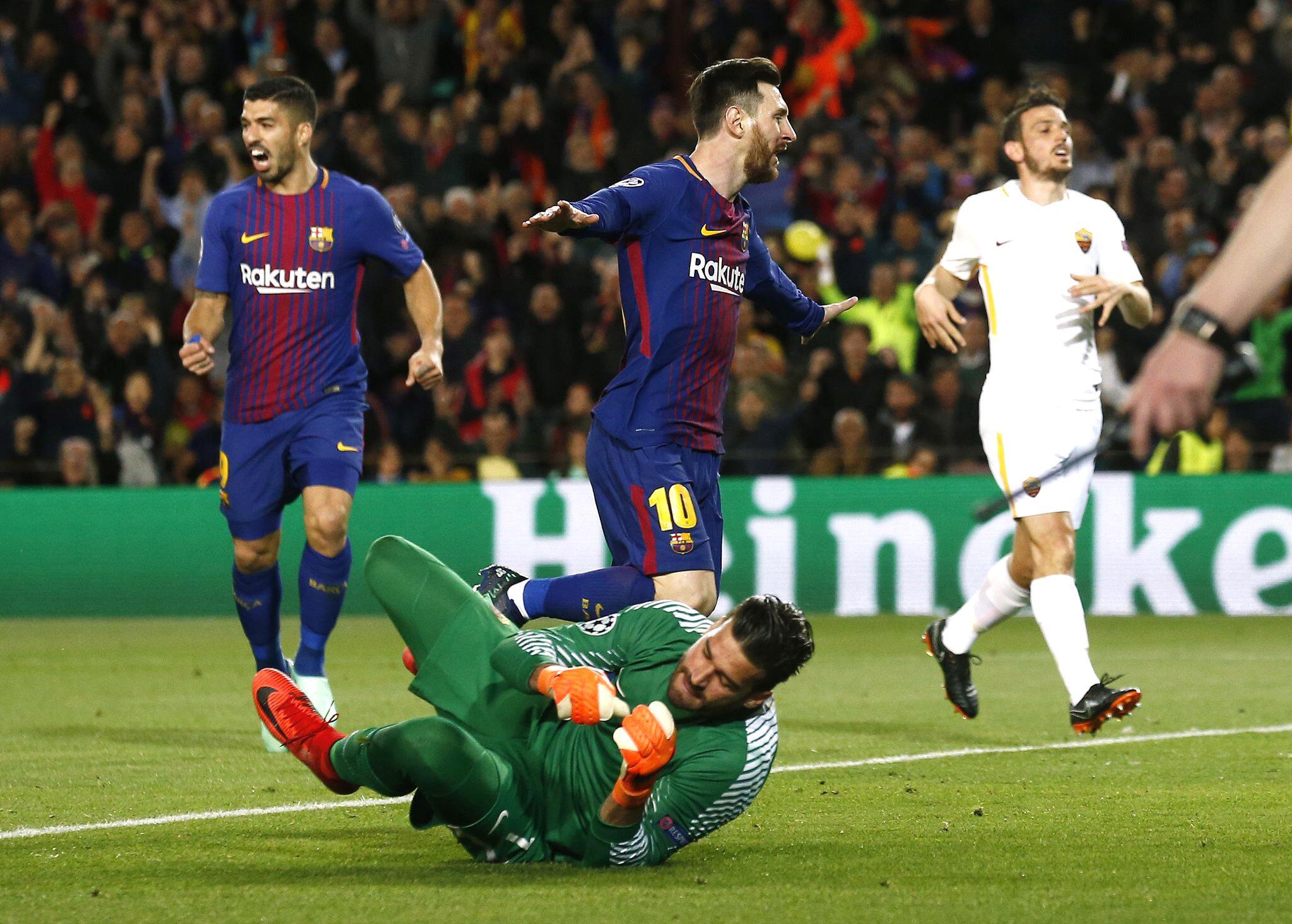 Bild zu FC Barcelona, AS Rom