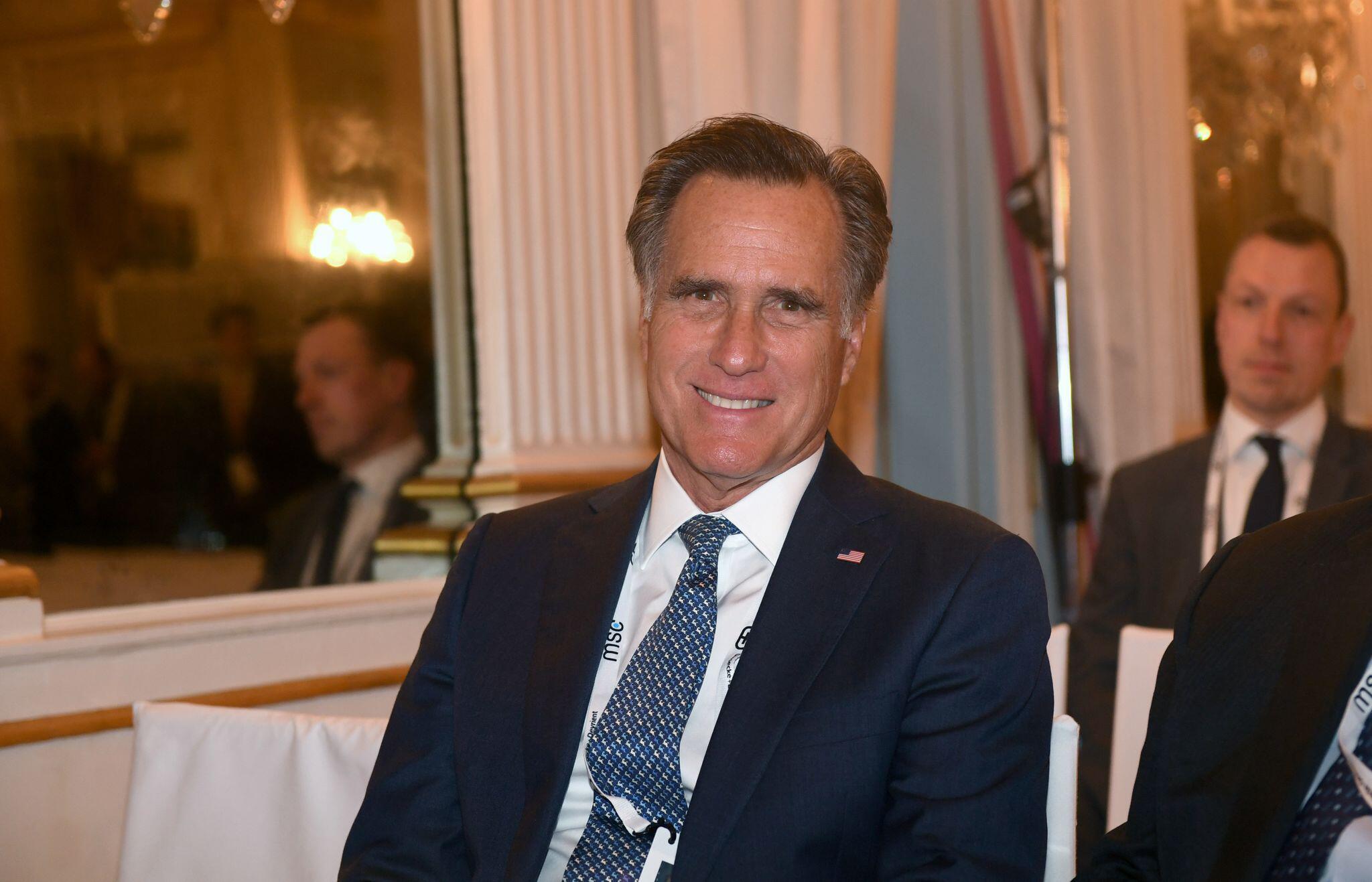 Bild zu Republikaner Romney verweigert Trump seine Stimme