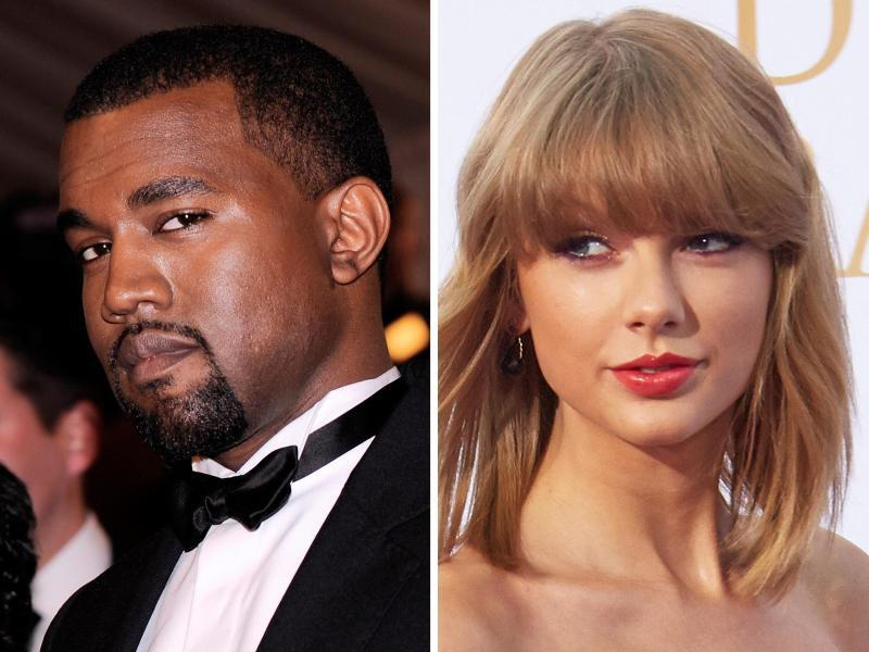 Bild zu Kanye West - Taylor Swift