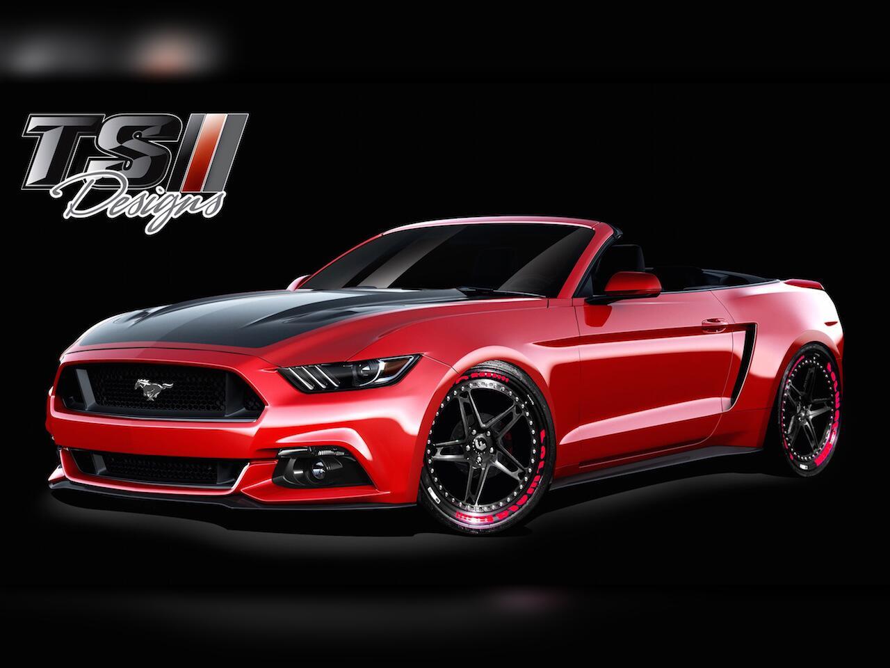 Bild zu Ford Mustang von TS Designs