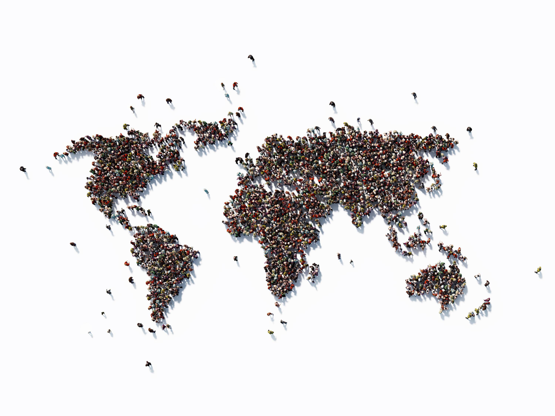 Bild zu Weltbevölkerung