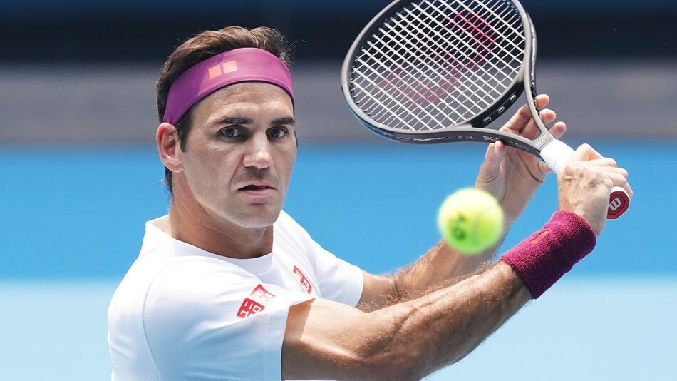 Tennis-Star Federer fluchte früher und zerschlug Schläger