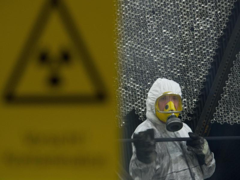 Bild zu Atommüll-Lagerung