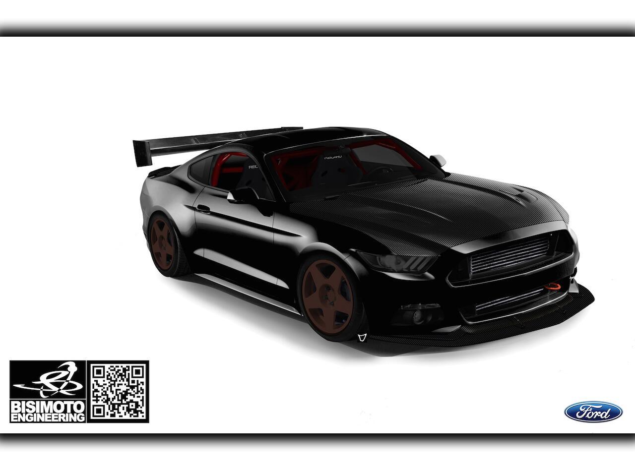 Bild zu Ford Mustang von Bisimoto