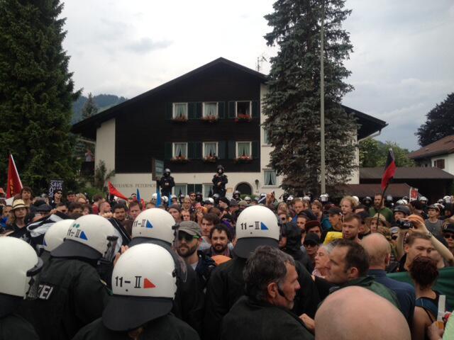 Bild zu G7-Gipfel auf Schloss Elmau
