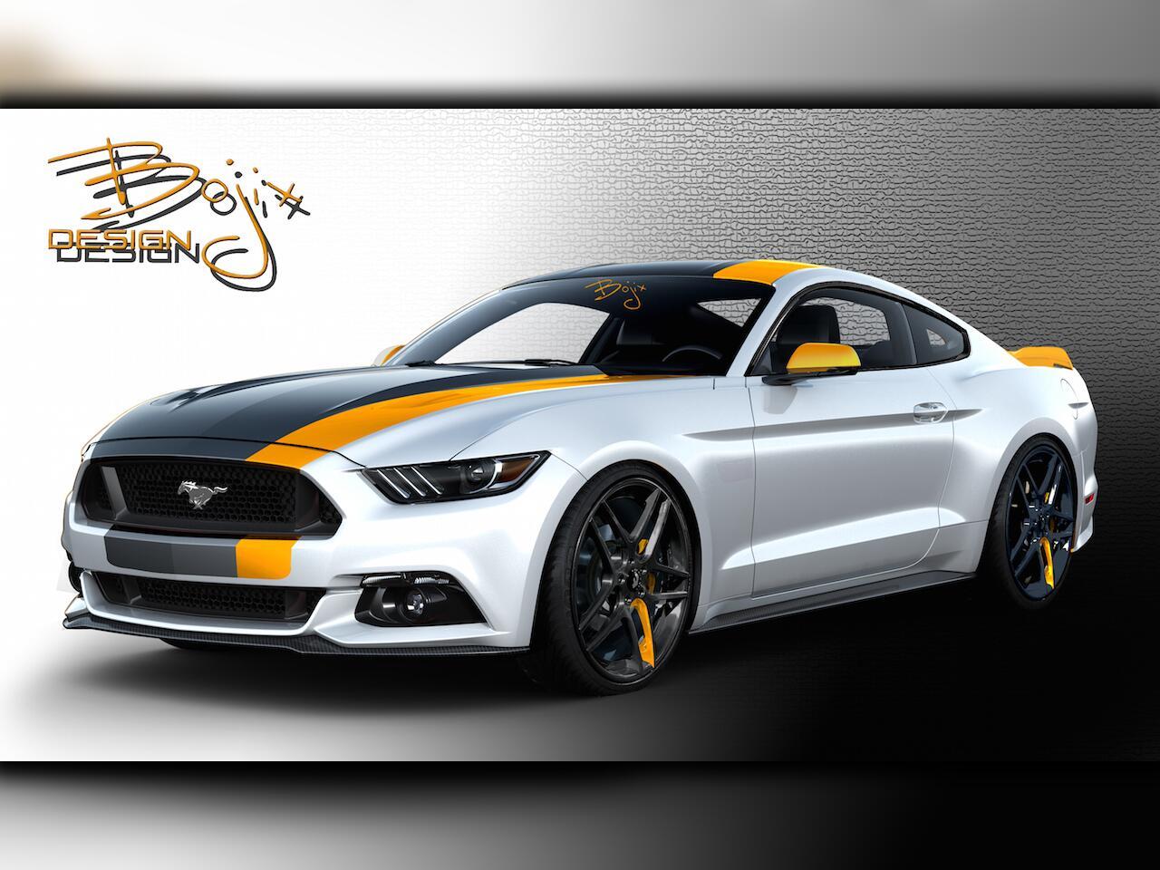 Bild zu Ford Mustang von Bojix Design