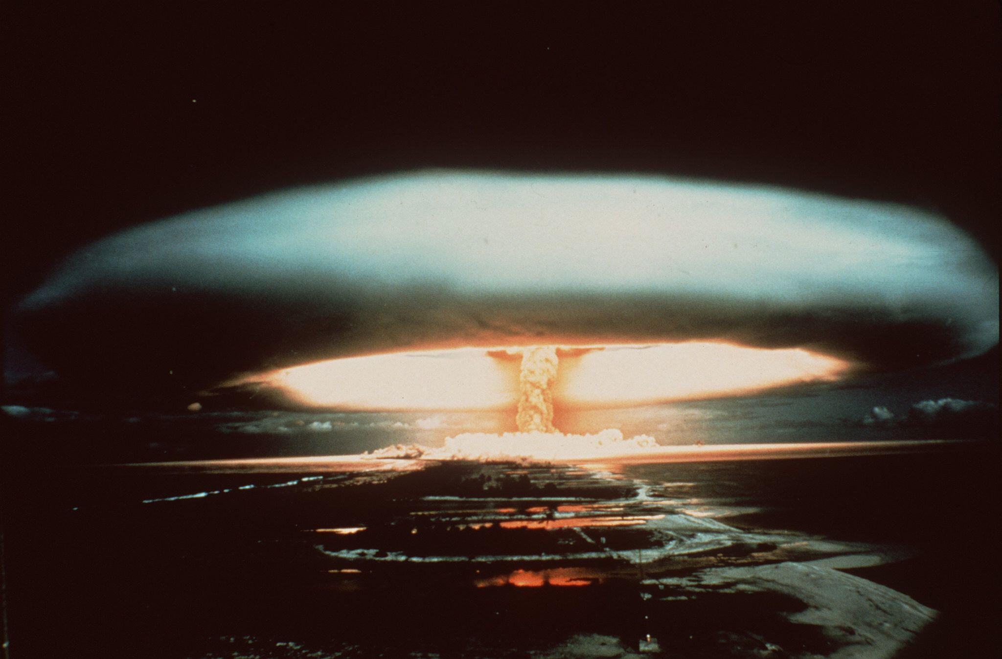 Bild zu Atomtest auf dem Mururoa-Atoll