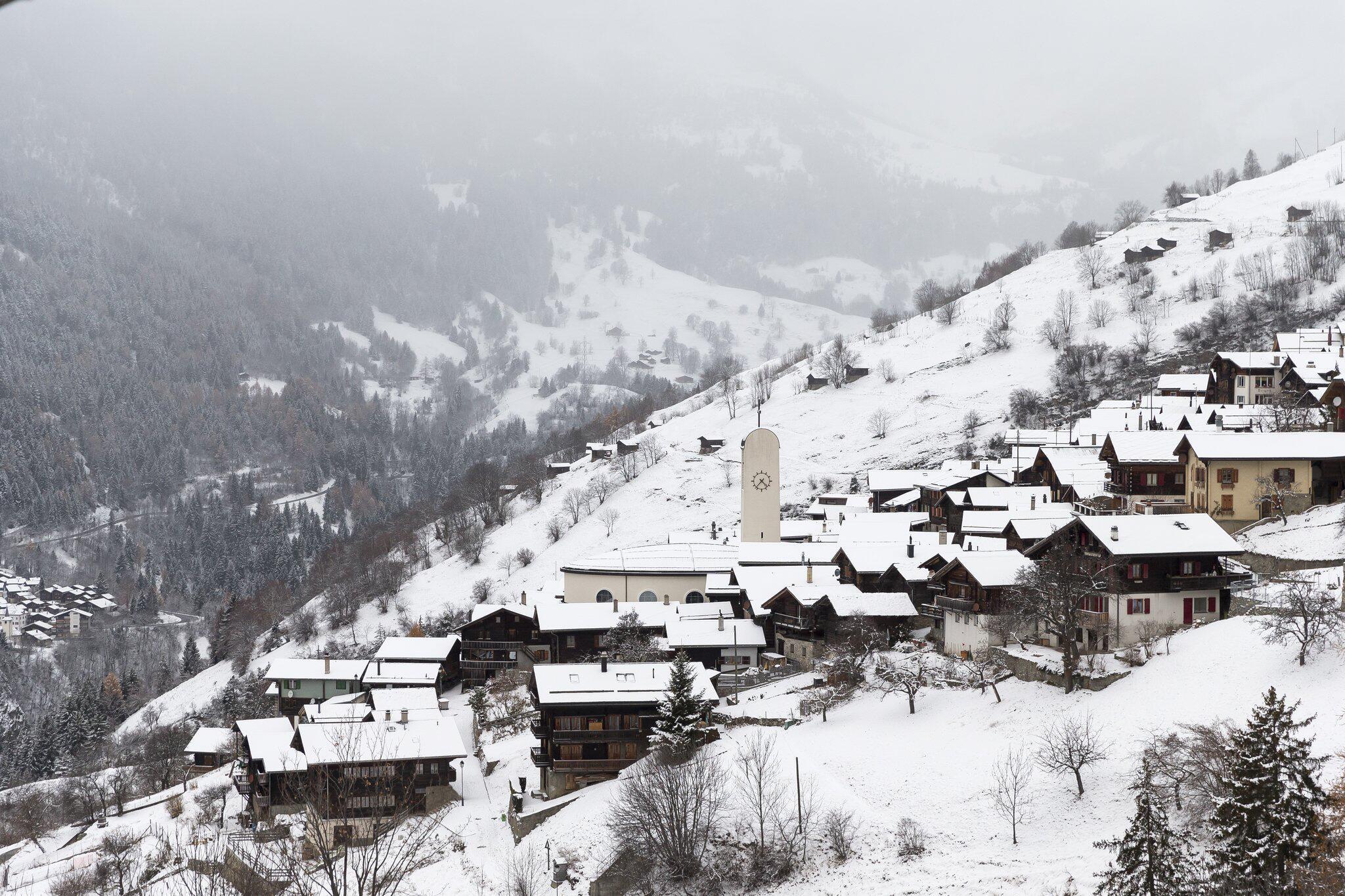 Bild zu Schweizer Dorf Albinen wirbt um Mitbewohner
